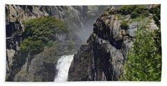 Lower Yosemite Falls Hand Towel