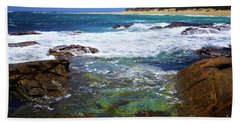 Mouth Of Margaret River Beach II Bath Towel by Cassandra Buckley