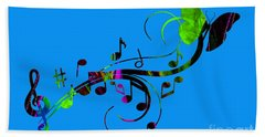 Music Flows Collection Hand Towel