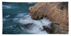 Point Lobos Hand Towel by Glenn Franco Simmons