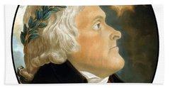 President Thomas Jefferson Hand Towel