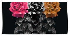 3 Roses Bath Towel