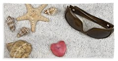 Seastar And Shells Hand Towel
