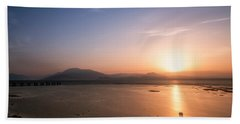 Hand Towel featuring the photograph Sirmione by Traven Milovich