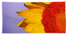 Sunflowers Hand Towel by Mark Ashkenazi