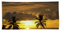 Sunrise Miami Beach Bath Towel