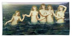 The Sea Maidens Hand Towel