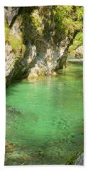 The Vintgar Gorge Hand Towel