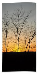 3 Trees Bath Towel