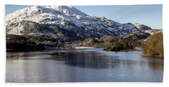 Trossachs Scenery In Scotland Hand Towel
