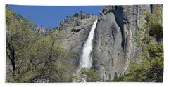 Upper Yosemite Falls Bath Towel