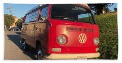 Volkswagen Bus T2 Westfalia Bath Towel