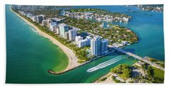 Welcome To Miami Hand Towel