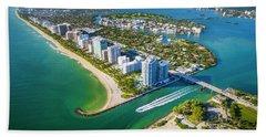 Welcome To Miami Bath Towel