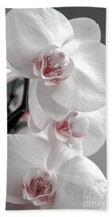 White Orchid Bath Towel