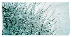 Bath Towel featuring the photograph Winter Wonderland In Switzerland by Susanne Van Hulst