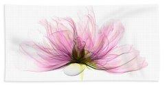 X-ray Of Peony Flower Hand Towel
