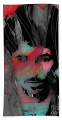 Bruce Springsteen Collection Hand Towel by Marvin Blaine