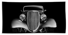 '33 Ford Hotrod Bath Towel by Douglas Pittman