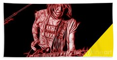 Neil Young Collection Hand Towel by Marvin Blaine