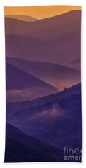 Allegheny Mountain Sunrise Two Hand Towel