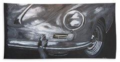 356 Porsche Front Hand Towel