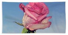 Nice Rose Hand Towel