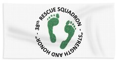 38th Rescue Squadron Bath Towel