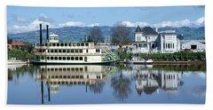 3b6380 Petaluma Queen Riverboat Hand Towel