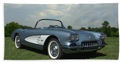 1960 Corvette Bath Towel