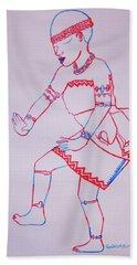 Adowa Dance Ghana Hand Towel