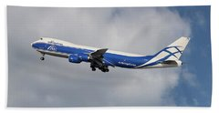 Air Bridge Cargo Airlines Boeing 747-83q Bath Towel