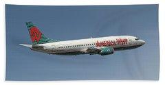 America West Boeing 737-300 Bath Towel
