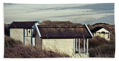 Beach Houses And Dunes Bath Towel
