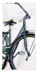 Bike Art Hand Towel
