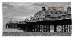 Brighton Photographs Hand Towels