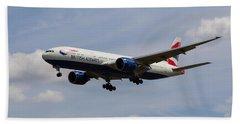 British Airways Boeing 777 Bath Towel
