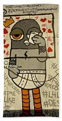 Bushwick Brooklyn Graffitti Hand Towel