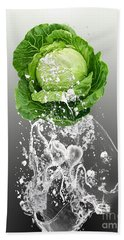 Cabbage Splash Hand Towel
