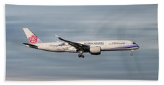 China Airlines Airbus A350-941 Hand Towel