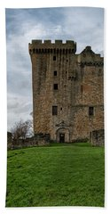Bath Towel featuring the photograph Clackmannan Tower by Jeremy Lavender Photography