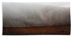 Etna, Red Mount Crater Hand Towel