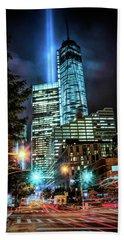 Freedom Tower Bath Towel