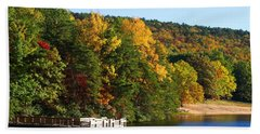 Hanging Rock Lake Hand Towel