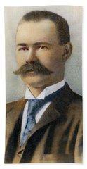 Herman Hollerith, 1860-1929 Bath Towel