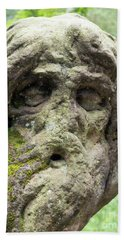 Hermit Juan Garin Bath Towel by Michal Boubin