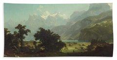 Lake Lucerne Bath Towel