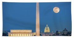 4 Monuments Hand Towel