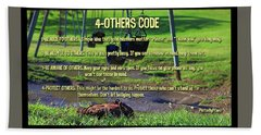 4-others Code Hand Towel