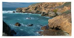 Point Lobos Bath Towel by Glenn Franco Simmons